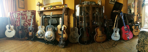 our guitars